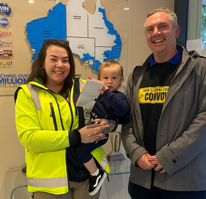 Janaya and Jaelen receive support from Convoy