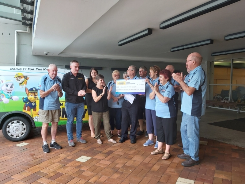 Convoy funds Illawarra Cancer Carers Patient Transport Program
