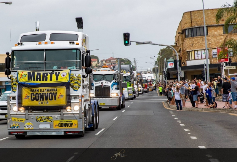 The Best locations to watch the Convoy, and public safety information