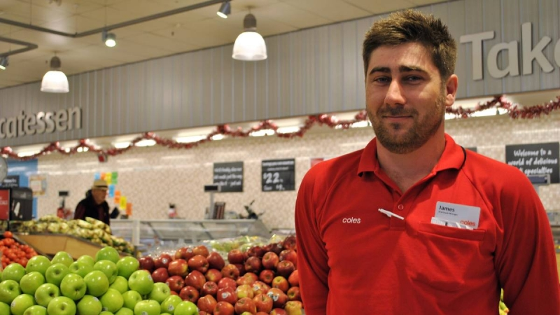 Coles employee to wax whole body after his store smashed their fundraising target!