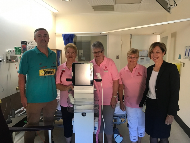 Convoy funds new equipment for Shellharbour Hospital